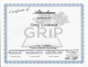 GRIP Certificate 2015